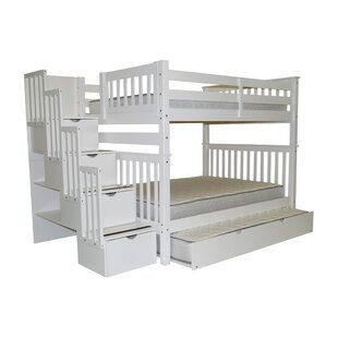 Read Reviews Tena Full over Full Bunk Bed with Full Trundle by Harriet Bee Reviews (2019) & Buyer's Guide