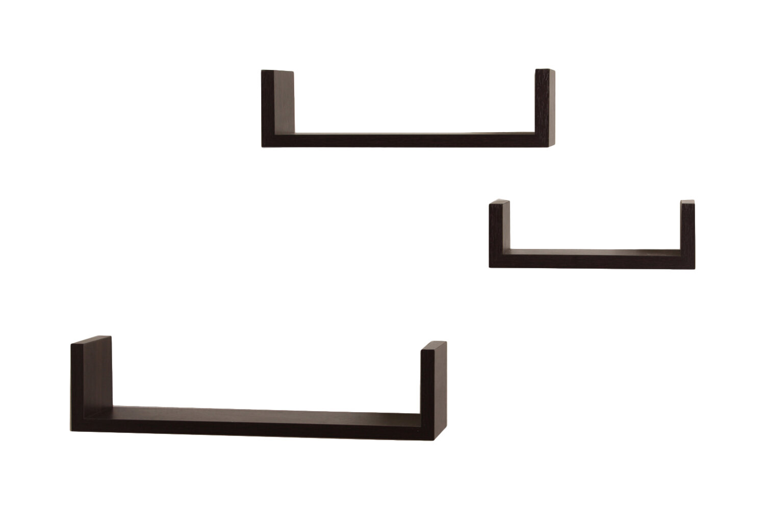 wickes 3 piece floating shelf set j