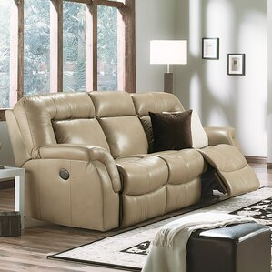 Leaside Leather Reclining Sofa by Palliser Furniture