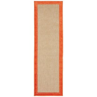 Madeleine Border Sand Indoor/Outdoor Area Rug