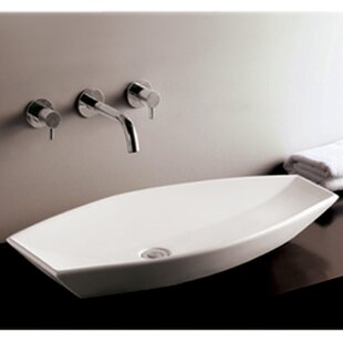 Online Reviews Isabella Ceramic Specialty Vessel Bathroom Sink By Whitehaus Collection
