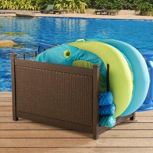 Mammoth Wicker Deck Box by Sunjoy