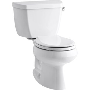 Kohler Wellworth Classic 1.28 GPF Round Two-Piece Toilet