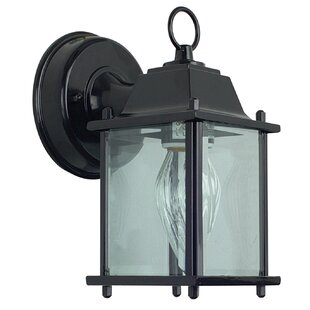 1-Light Outdoor Wall Lantern By Sunset Lighting Outdoor Lighting