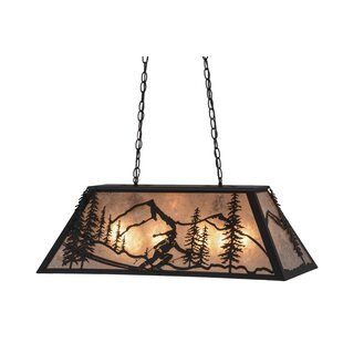 Meyda Tiffany Alpine 6-Light Pool Table Pendant