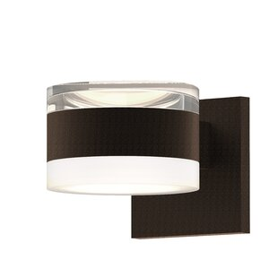 Comparison Algarin 2-Light LED Outdoor Armed Sconce By Latitude Run