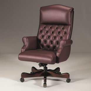 Leather Executive Chair By Triune Business Furniture