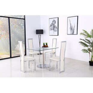 Adlingt Dining Set With 2 Chairs By Metro Lane