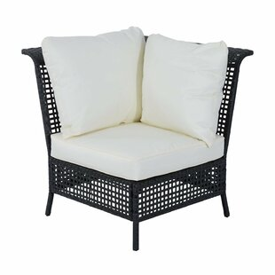 Rattan Single Corner Section With Cushion By Sol 72 Outdoor
