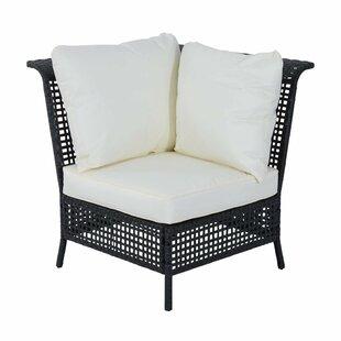 Sale Price Rattan Single Corner Section With Cushion