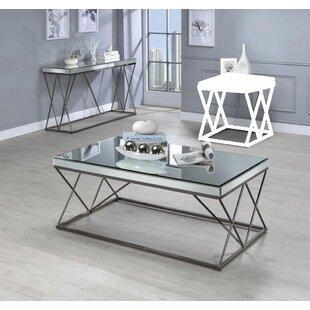 Brayden Studio Kerens 2 Piece Coffee Table Set