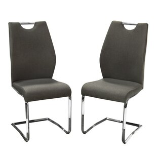 Margrett Upholstered Dining Chair (Set of 2) Orren Ellis
