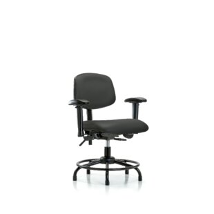 Ian Ergonomic Drafting Chair by Symple Stuff Today Sale Only