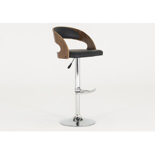 Aghancrossy Height Adjustable Swivel Bar Stool By George Oliver