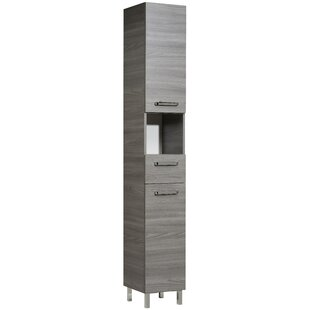 Soltau 30 X 196cm Free Standing Tall Bathroom Cabinet By Quickset