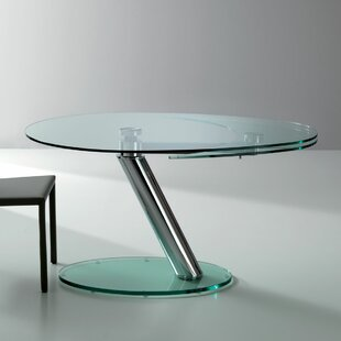 YumanMod Onda Oval Extendable Dining Table