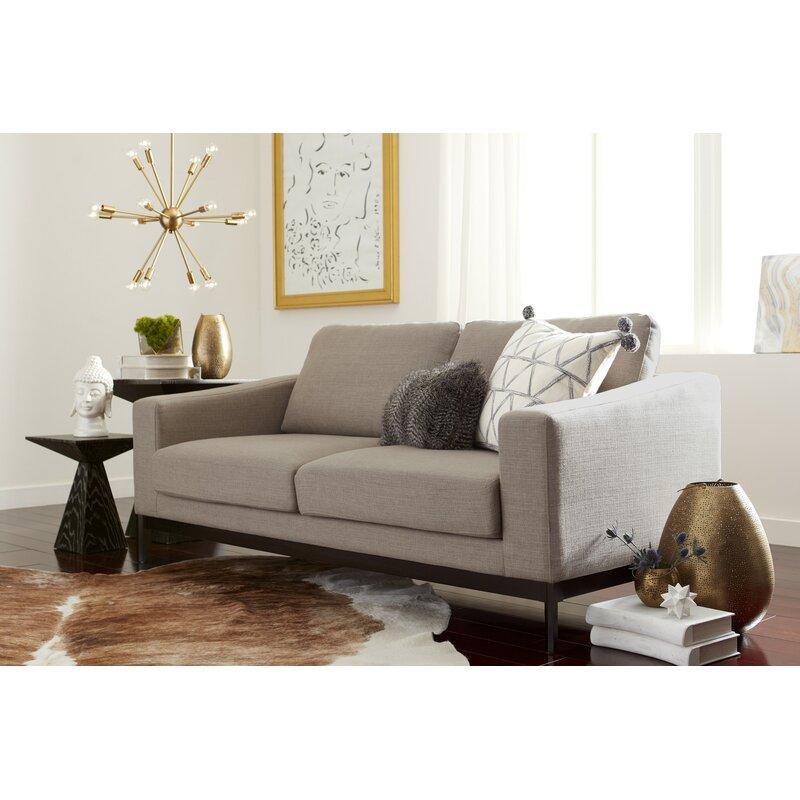 Olivia 86 Square Arm Sofa Reviews Joss Main