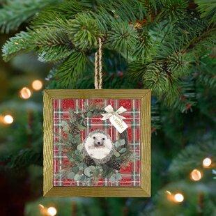 Hedgehog Christmas Ornament 2021 Gold Photo Christmas Ornaments You Ll Love In 2021 Wayfair