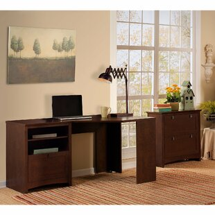 Fralick 2 Piece L-Shape Desk Office Suite by DarHome Co Today Only Sale