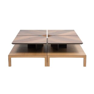 Coffee Table with Magazine Rack by Keyfex