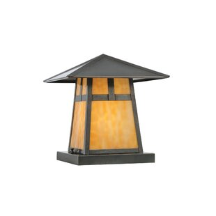 T Mission Stillwater 1-Light Pier Mount Light By Meyda Tiffany