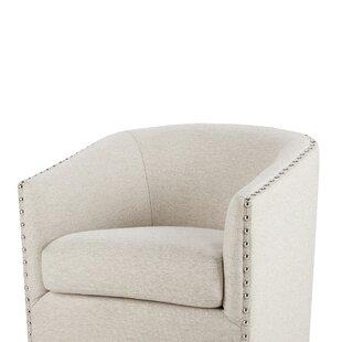 Brigance Barrel Chair by Alcott Hill