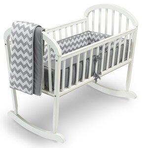 Clint 3 Piece Cradle Bedding Set