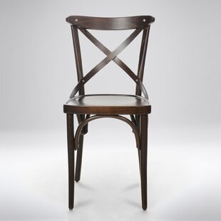 Slade Solid Wood Dining Chair (Set of 2) by August Grove