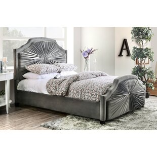 Arikara Upholstered Panel Bed
