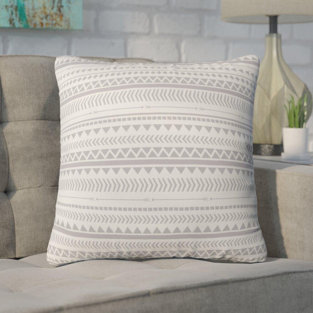6 x 20 White Dena Home Cloud Leaf 6 W x 20 L Neckroll Decorative Pillow