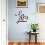 Live Laugh Love Wall Decor Wayfair