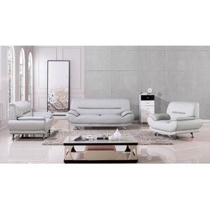 Denzel 3 Piece Living Room Set