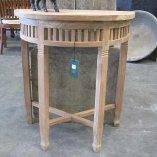 Lavaca Teak Console Table By Brambly Cottage