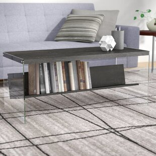 Calorafield Coffee Table With Storage by Wade Logan Great price