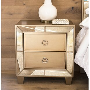 Alasdair 2 Drawer Nightstand by Willa Arlo Interiors