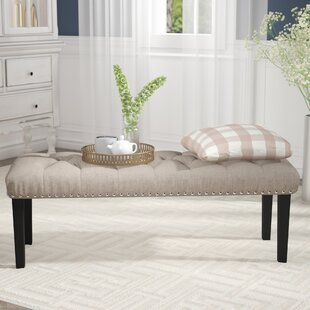 Seapine Upholstered Bench Charlton Home