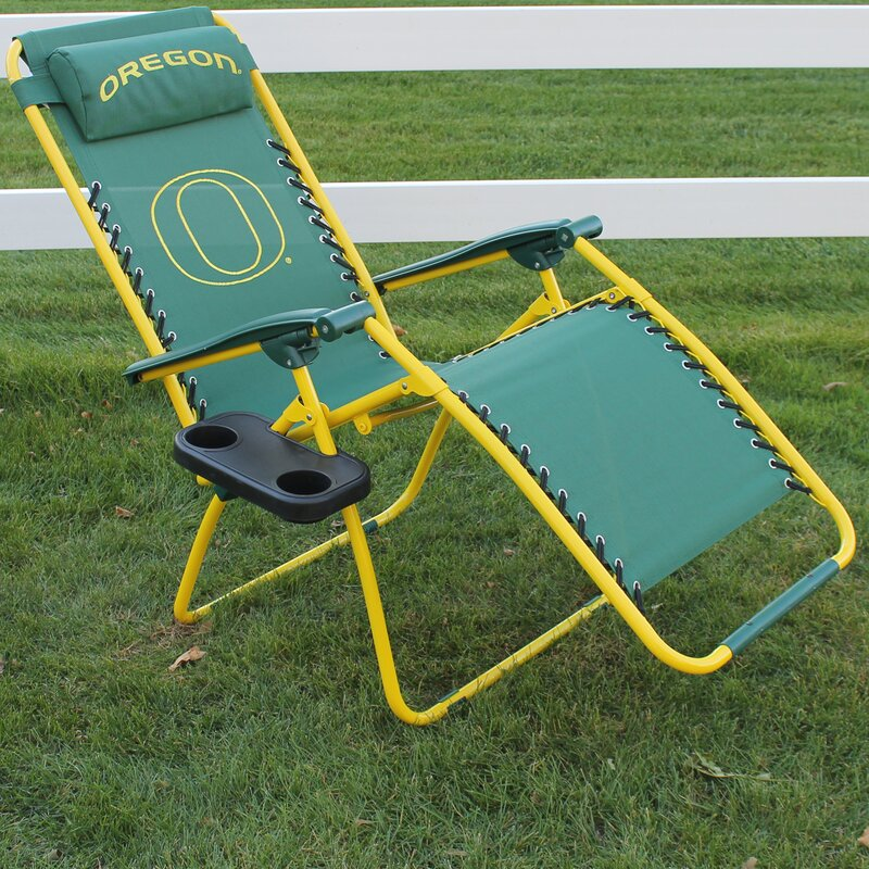 College Covers Reclining Zero Gravity Chair & Reviews ...
