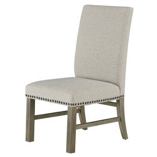 Gracie Oaks Wilshire Upholstered Dining Chair (Set of 2)
