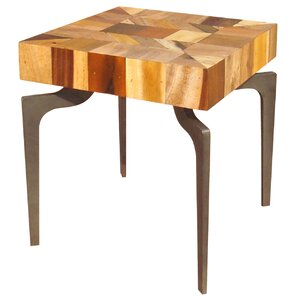 Spiva End Table by World Menagerie