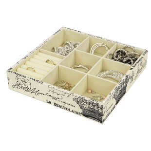 Best Choices Paris Large Jewelry Accessory Tray By Home Basics