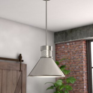 Irwin 1-Light LED Cone Pendant