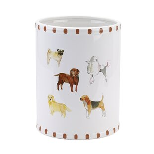 Avanti Linens Dogs on Parade 64 Gallon Waste Basket