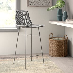 Check Prices Emile 28 Bar Stool by Mistana Reviews (2019) & Buyer's Guide