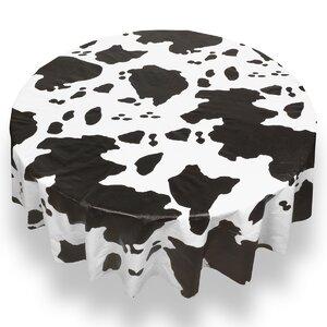 Samlal Fadelle Moo Cow Print Tablecloth