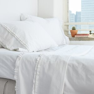 Dainty Ruffle Cotton Sheet Set