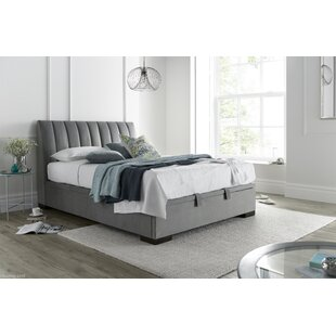 Check Price Rashad Upholstered Ottoman Bed
