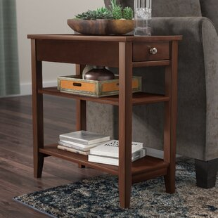 Great Price Greenspan End Table With Storage By Three Posts