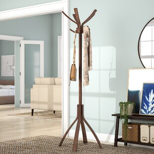 Rebrilliant Coat Stand with 10 Pegs