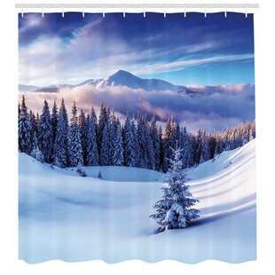 Winston Porter Christmas Shower Curtains You Ll Love In 2020 Wayfair