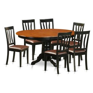Paloma 7 Piece Dining Set Alcott Hill